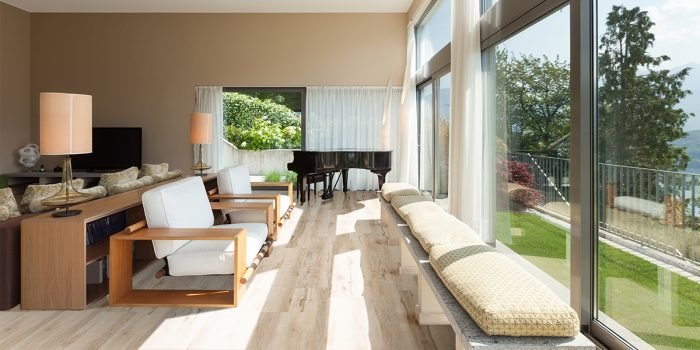 Twelve Oaks Endure Luxury Vinyl Plank (Light Drizzle) Living Room