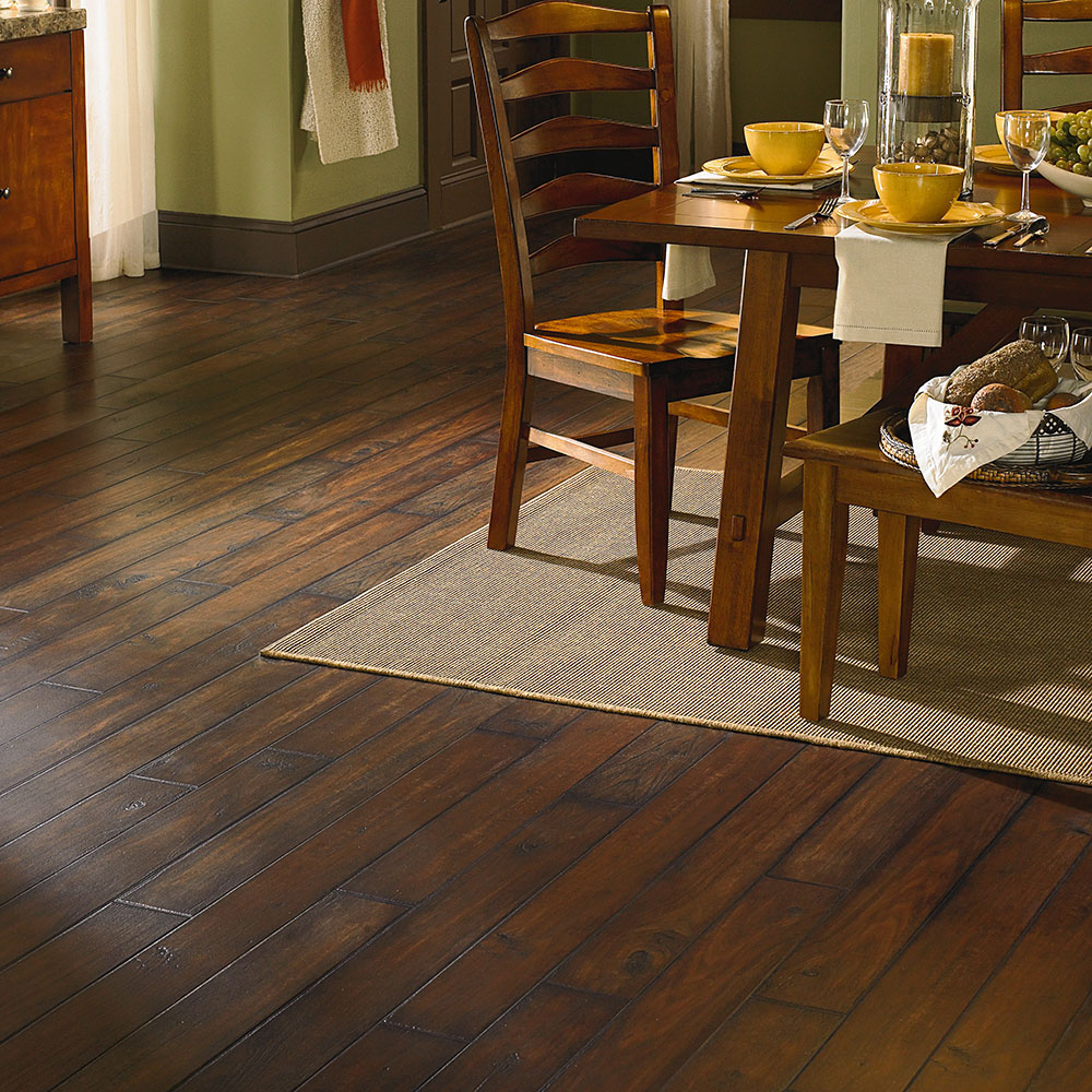 Adura Ashford Luxury Vinyl Plank in Walnut by Mannington | Great Floors Canada