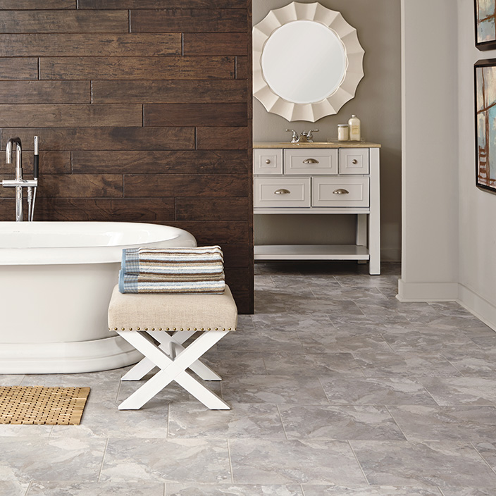 Adura Corinthia Luxury Vinyl Tile in Topaz by Mannington | Great Floors Canada
