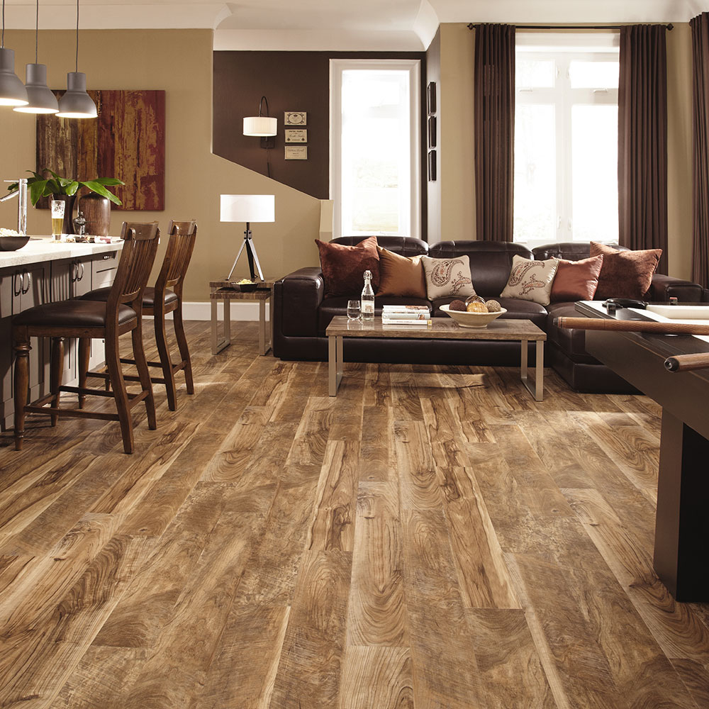 Adura by Mannington | Heritage Luxury Vinyl Plank in Buckskin at Great Floors Canada