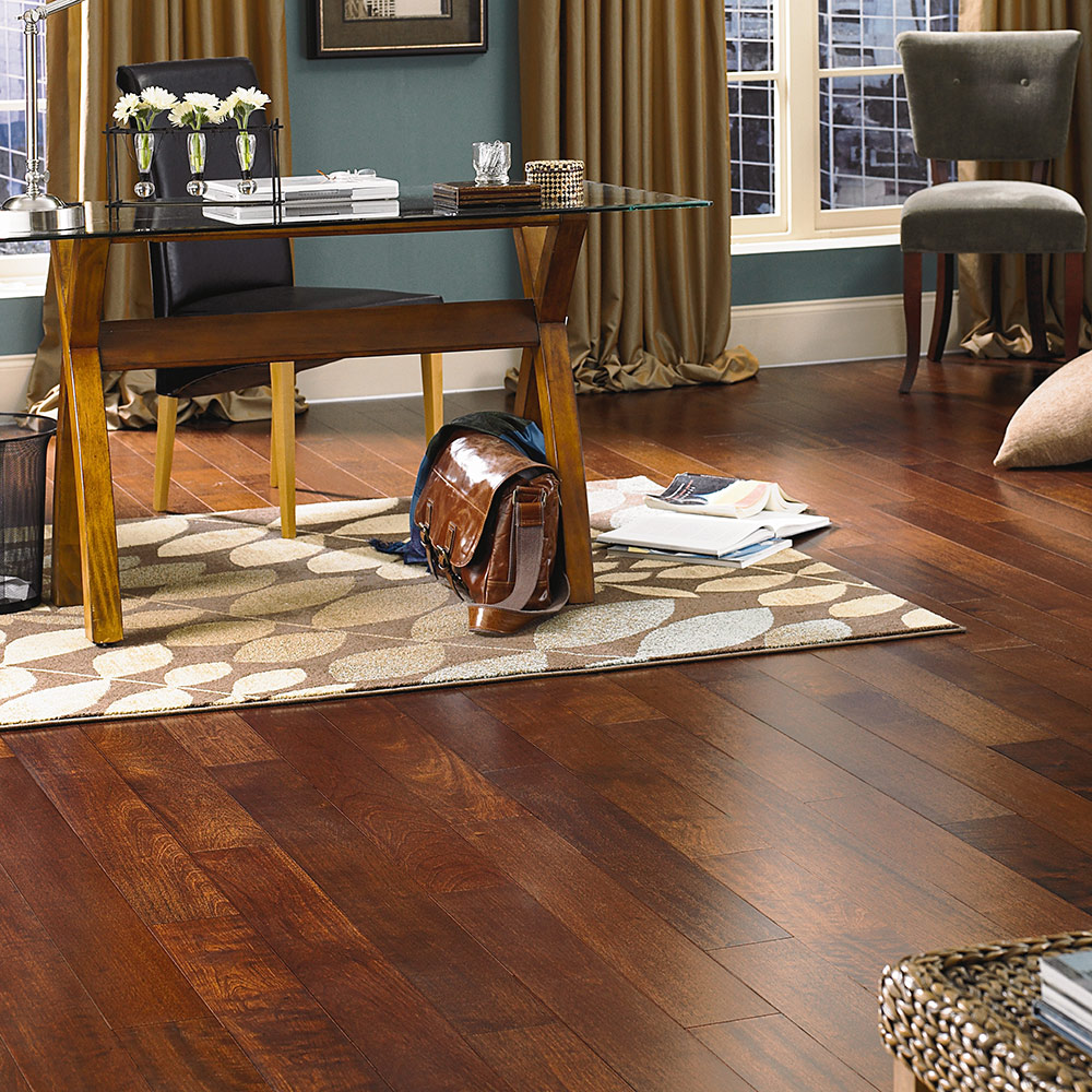 Mannington Hardwood Atlantis Prestige in Brazilian Cherry at Great Floors