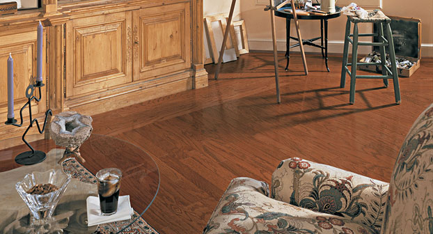 Mannington Hardwood Jamestown Oak in Nutmeg at Great Floors