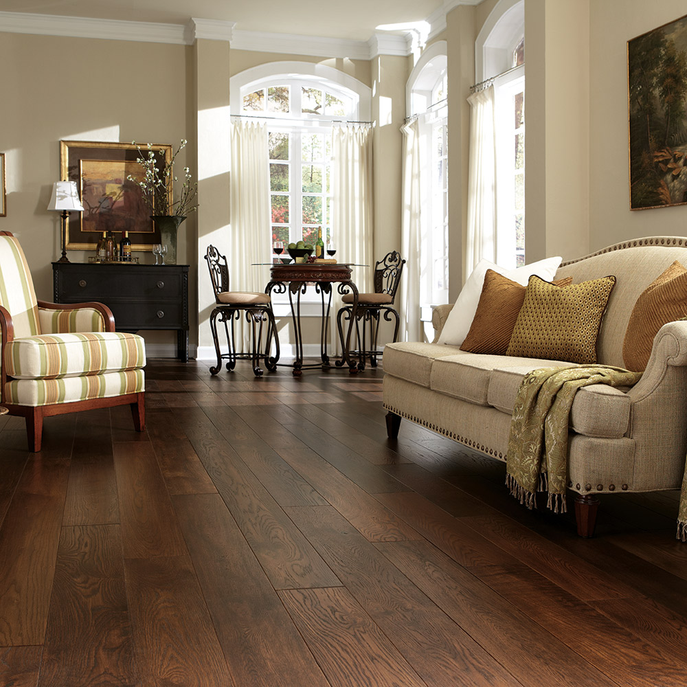 Mannington Hardwood Maison Normandy in Café at Great Floors