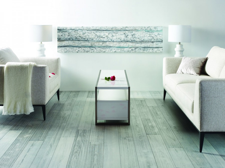 Kentwood Hardwood Brushed Birch in Oyster Point at Great Floors