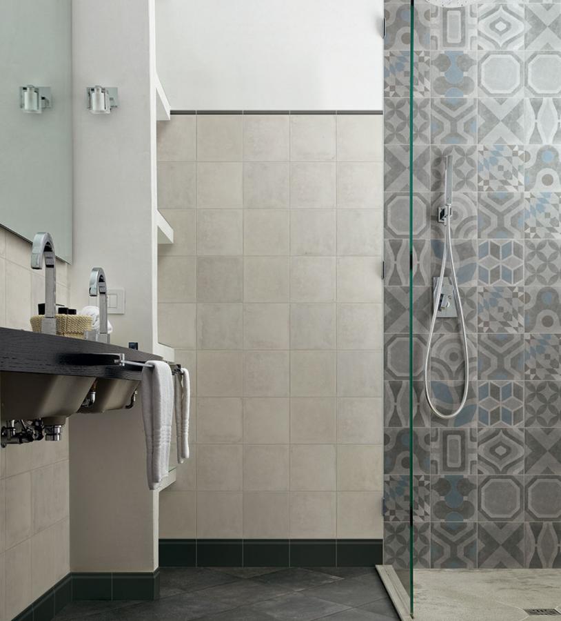 Memory Porcelain Tile by Ceragres in Blank & Noir Decor at Great Floors