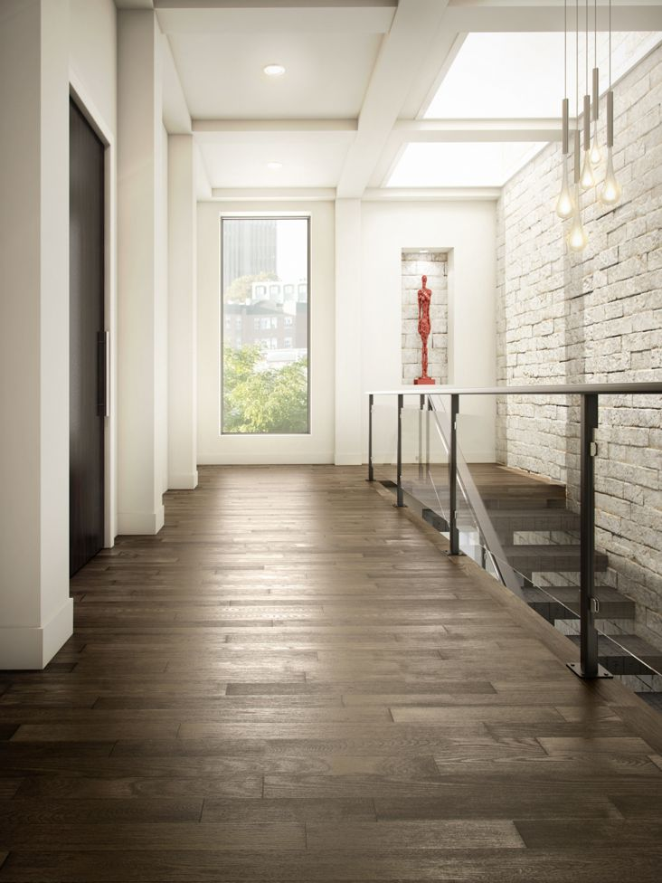 Preverco Ash in Brushed Graphite at Great Floors