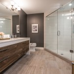 The downstairs washroom of the 2014 Dream Home in London, ON