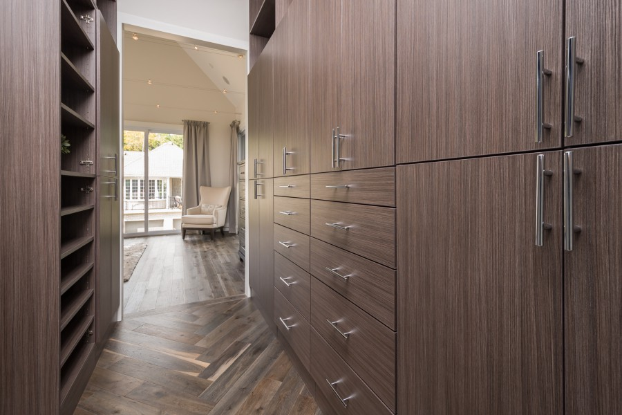The master Walk-in Closet of the 2014 Dream Home in London, ON