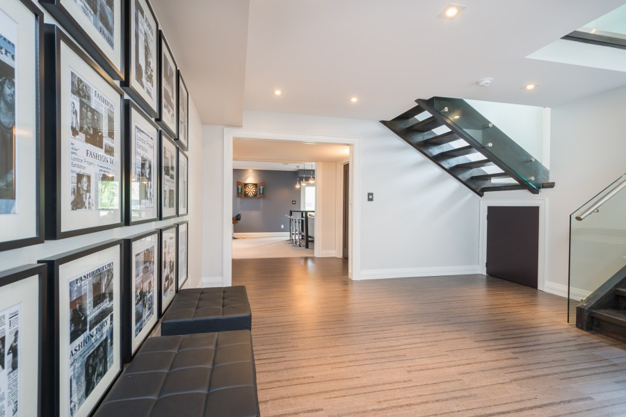 The basement foyer of the 2014 Dream Home in London, ON