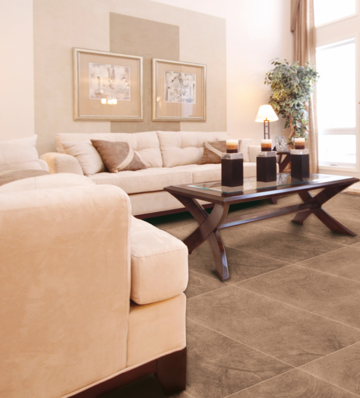 Fragrance Porcelain Floor by Ceragres in Talco at Great Floors Canada