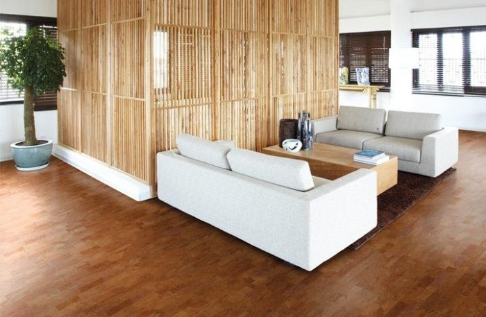 Identity Cork Flooring in Chestnut by Wicanders | Eco-Friendly Flooring at Great Floors Canada