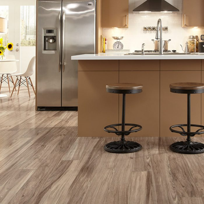 Elmhurst Laminate Plank in Alabaster by Mannington at Great Floors
