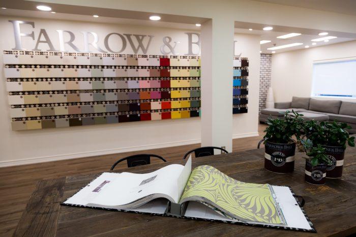 Farrow & Ball Paint Display