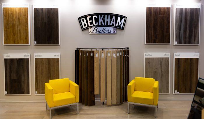 Beckham Brothers Flooring Luxury Vinyl Plank Display