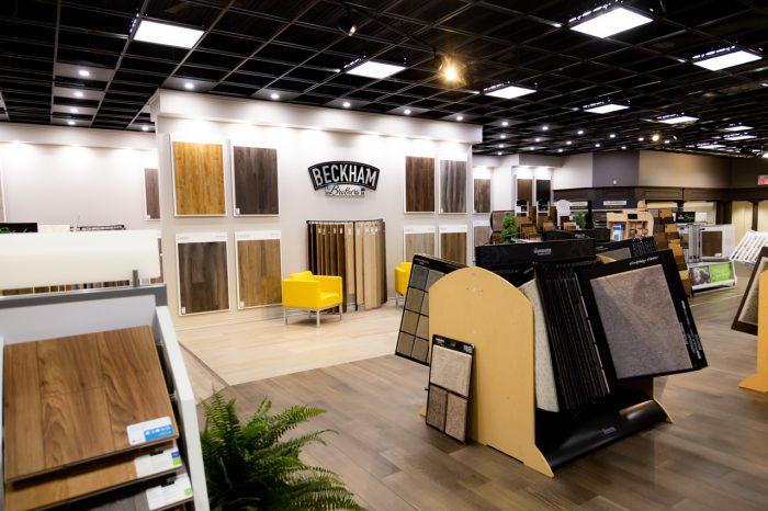 Beckham Brothers Flooring Luxury Vinyl Display