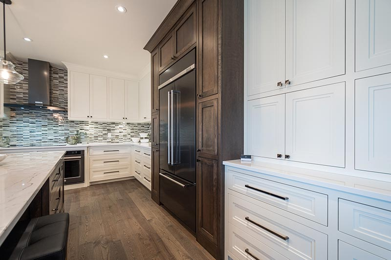 Kitchen flooring and backsplash Dream Home 2015