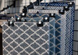 Patterned Carpet Flooring Display