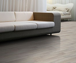 Living room featuring laminate: Pur by Beaulieu