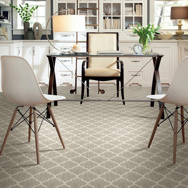 Tuftex carpet by Shaw room scene