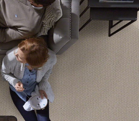 cathedral Hill carpet by shaw room scene