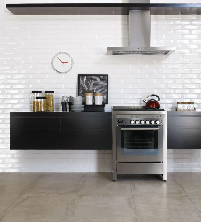 Kitchen: Ceragres Subway Wall Tile (Liverpool)