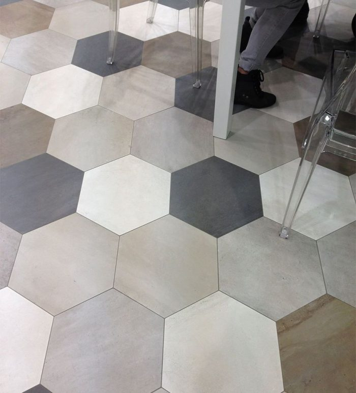 Ceragres Domus Hex Mixed Floor Tiles