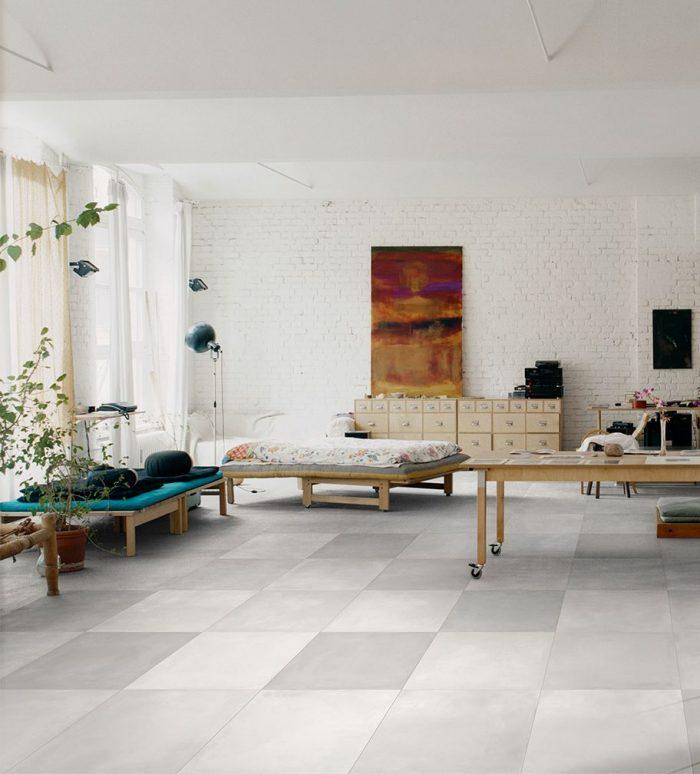 Studio: Ceragres Mate Terra Grigio 24x24 Floor Tile