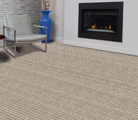 houndstooth carpet by VIFLOOR room scene for london design gallery