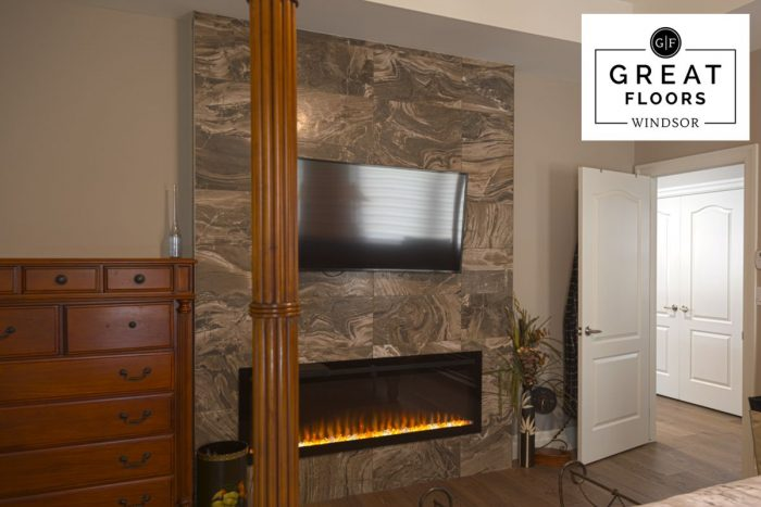 Midgley Supreme Tile Fireplace