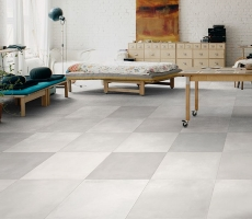 colour: terra grigio tile, glazed porcelain london flooring featured product