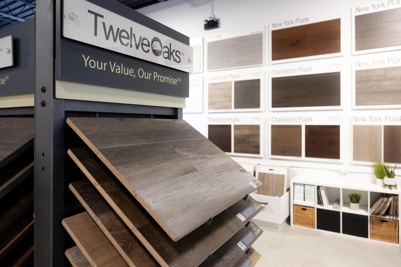 twelve oaks hardwood display 2